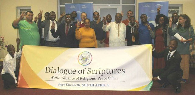 Promoting religiousdialogue at the Port Elizabeth, South Africa WARP Office