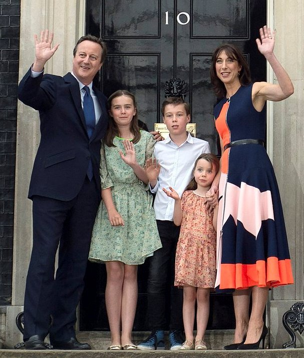 David Cameron and his say 'Good-Bye'