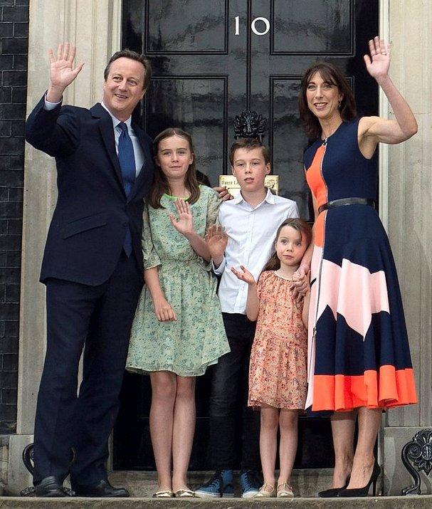 David Cameron and his say 'Good-Bye'