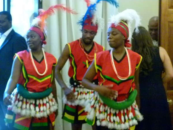 ADANTA Dance Troupe entertained guests
