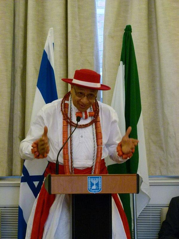Chief Richmond MacGrey - representative of the Olu of Warri