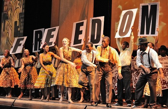 Mandela Trilogy presented by Cape Town Opera.