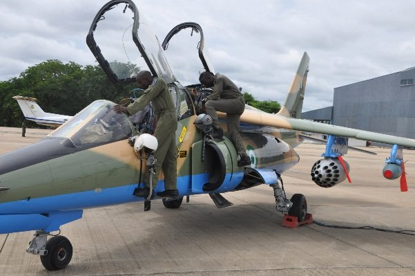 Nigerian Air Force test fires locally weaponised aircraft