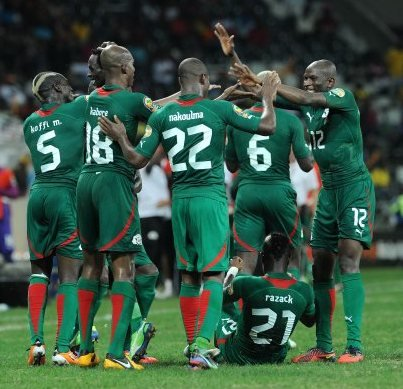 The Burkinabe football team