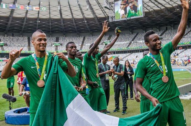 Nigeria celebrates bronze win at Rio 2016