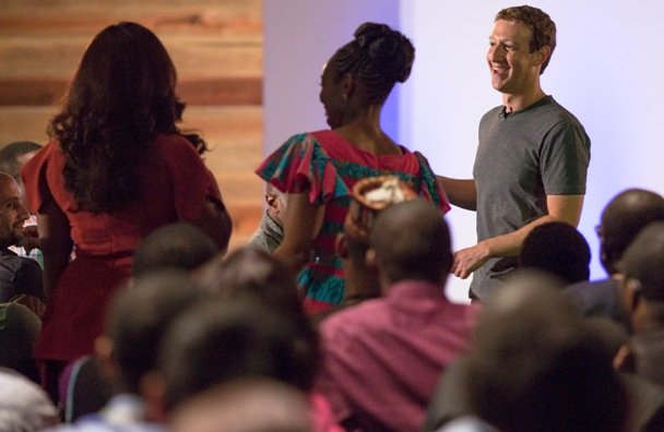 Mark Zuckerberg in Lagos