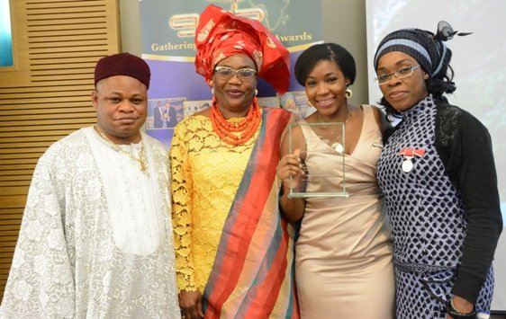 Alhaji Afolabi, Rukayat Basaru, and Michelle Odumuyiwa at GAB 2015