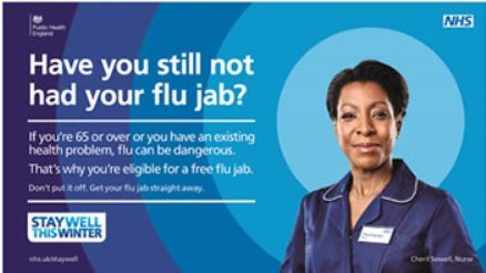 Have you still not had the flu jab