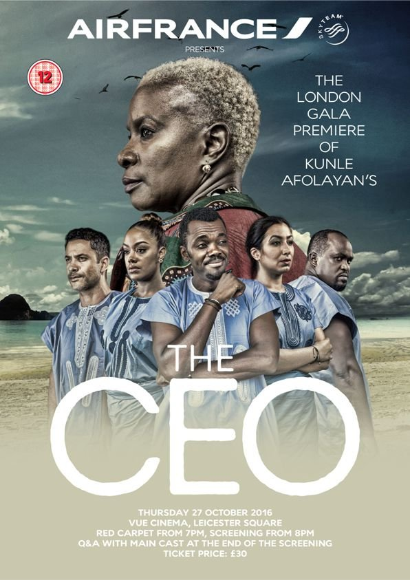 The CEO official poster
