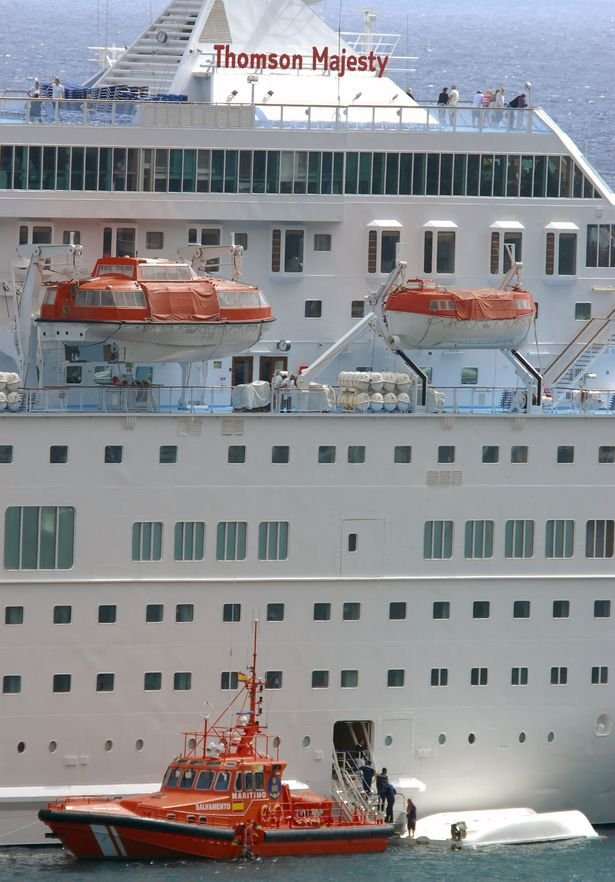 Cruise ship fall (Feb 2013)