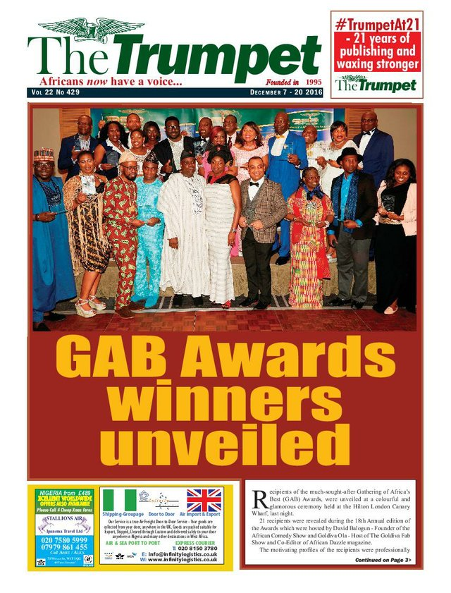 The Trumpet Newspaper - Trumpet Media GroupThe Trumpet Newspaper Issue 429 (December 7 - 20 2016)