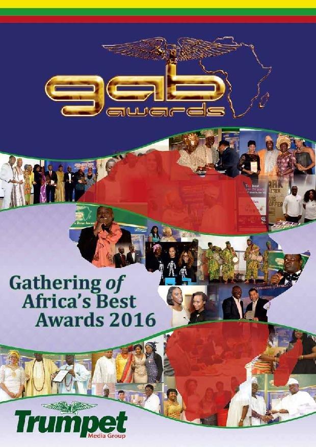 GAB Awards 2016 brochure cover