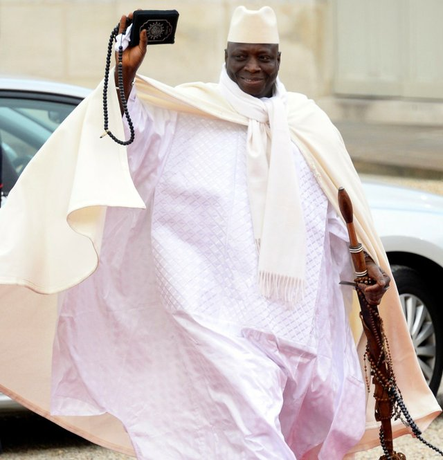 Yahya Jammeh relinquishes power