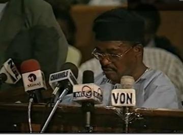 General Oladipo Diya at the Oputa Panel