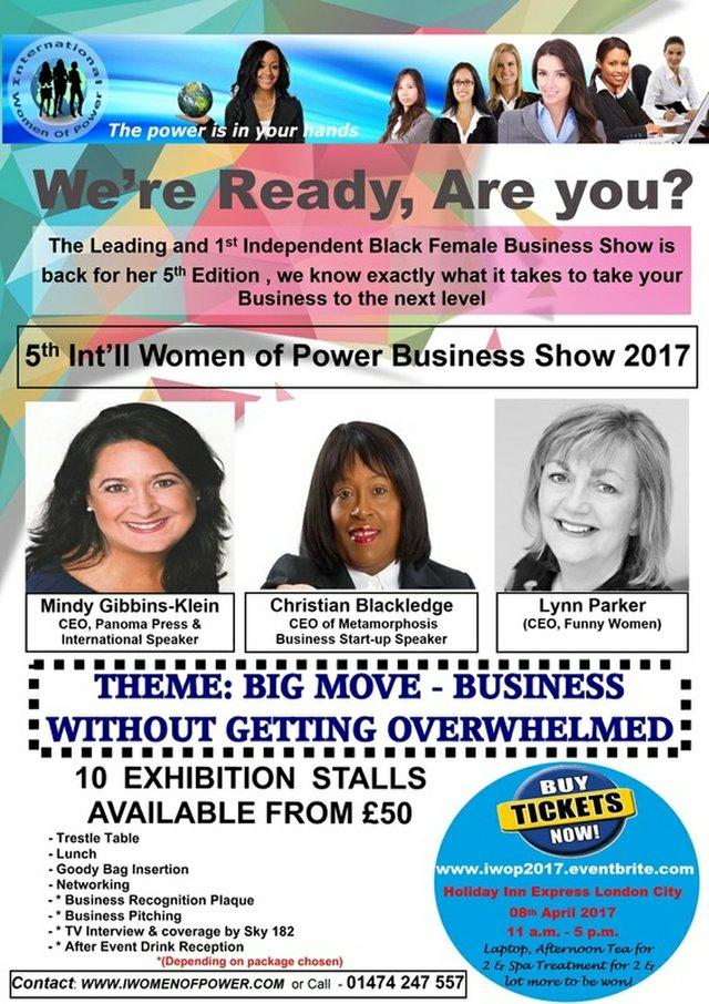 International Women of Power IWOP 2017