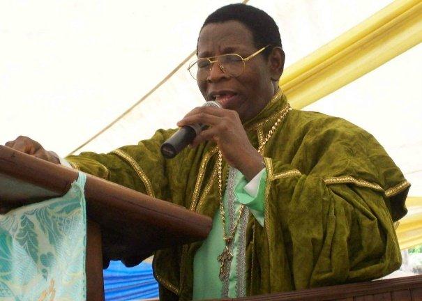 Pastor Emmanuel Mobiyina Oshoffa - Pastor of the Celestial Church of Christ