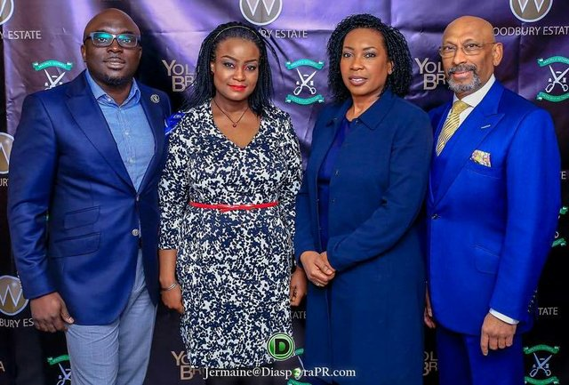 From left - Richard and Bunmi Obahor, Dupe Lalude and Andrew Ramroop OBE.jpg