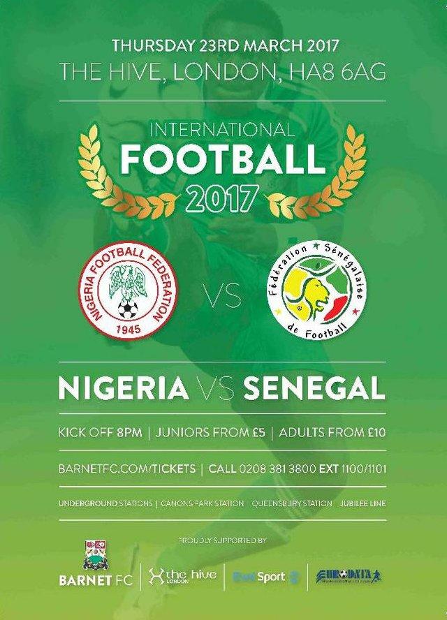Nigeria VS Sengegal 230317
