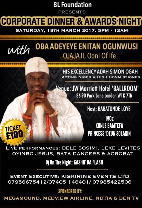 BL Foundation Ooni Dinner