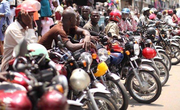 Nigeria's commercial motorcyclists - Okada