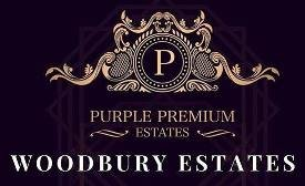 Purple Premium Woodbury Estates logo