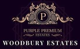 Purple Premium Woodbury Estates logo