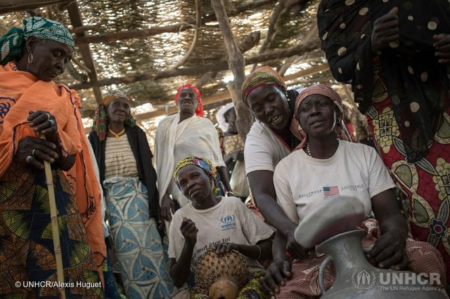 Nigerian refugees in Cameroon (by UNHCR - Alexis Huguet)