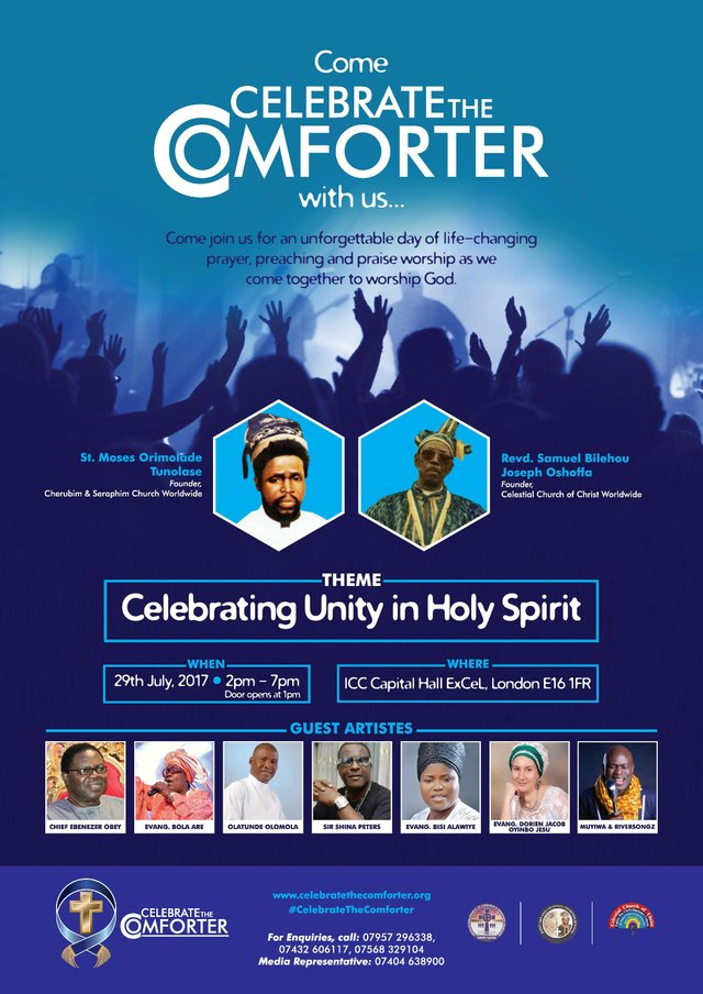 Celebrate The Comforter Poster