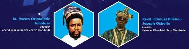 Orimolade Tunolase and Samuel Oshoffa