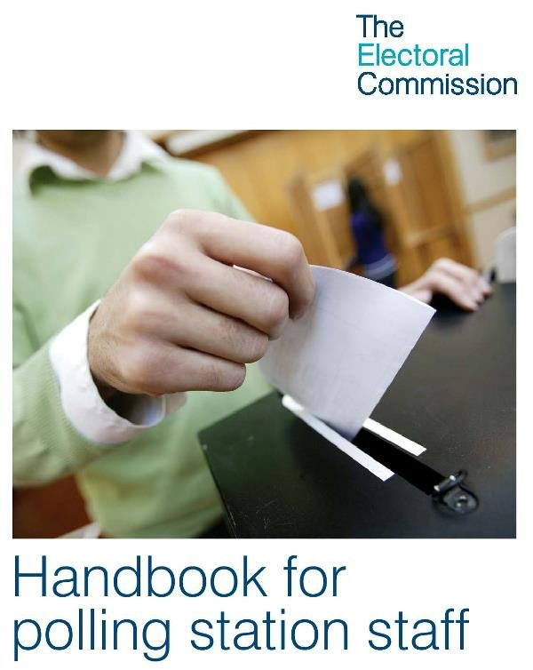 Handbook for Polling Staff - Page 1