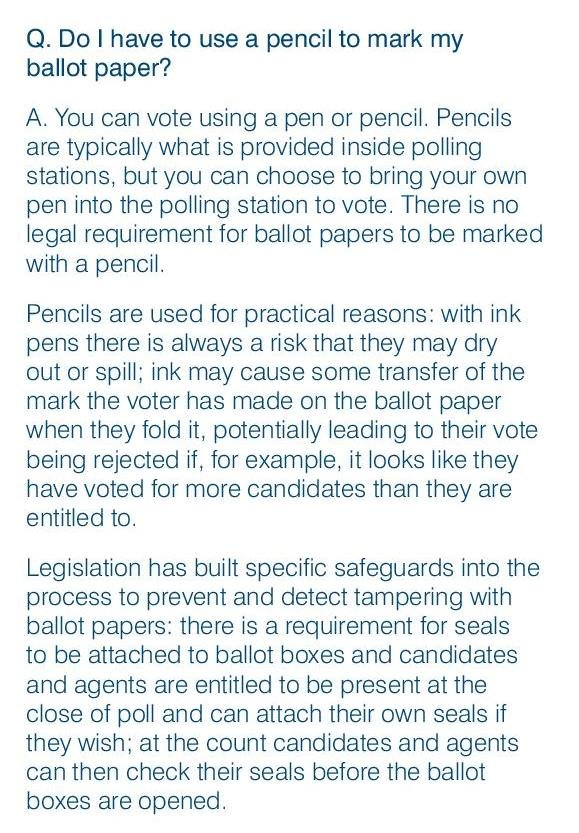 Handbook for Polling Staff - Page 40