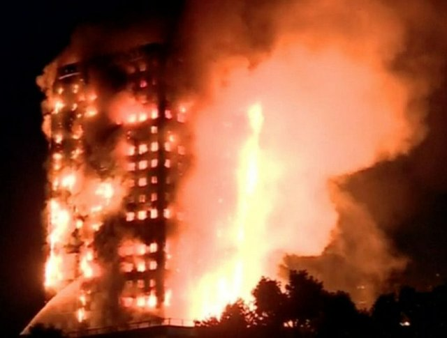 Grenfell Tower Block inferno
