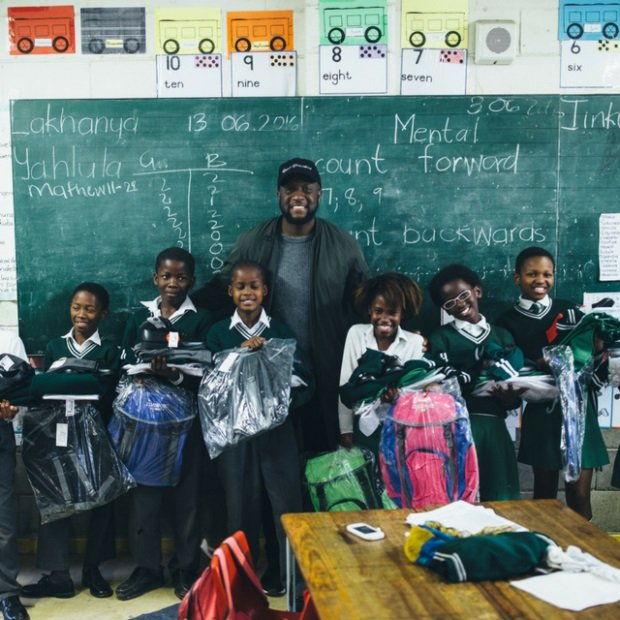 Vitae London helping less privileged children in South Africa