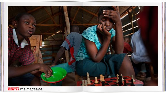 Phiona Mutesi's instincts have made her a player to watch in international chess