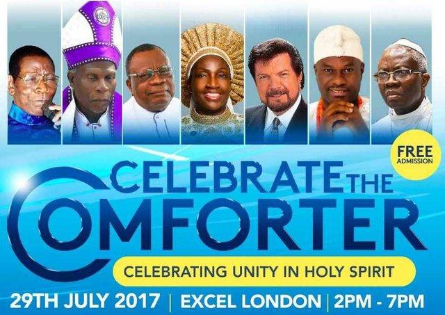 Celebrate The Comforter