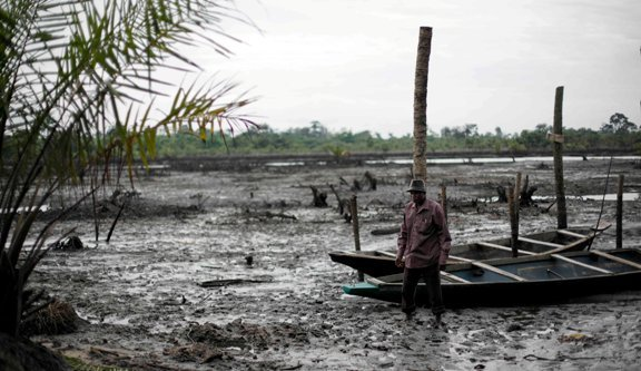 Environmental damage in Ogoni land