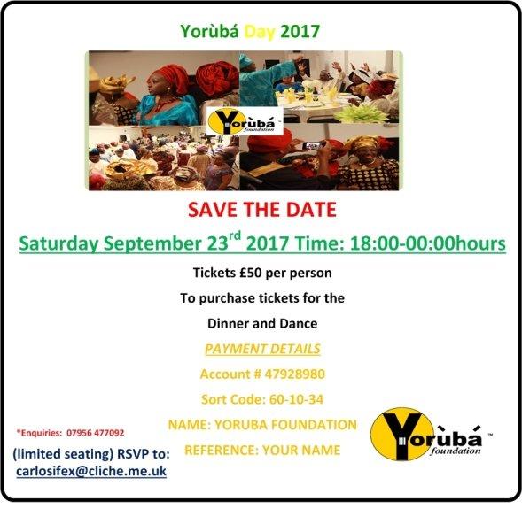 Yoruba Day 2017