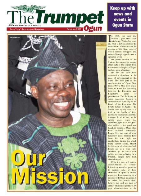 Trumpet Ogun - November 2011
