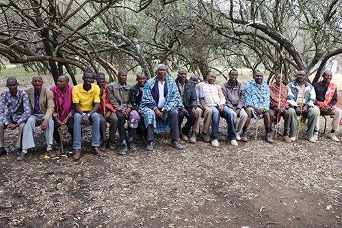 A group of community elders in Narok County who are the forefront of the movement to abandon FGM and child marriage. The involvement of men and boys is critical in eradicating the harmful practices.
