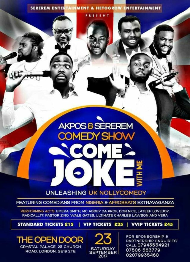 Akpos and Sererem Comedy Show