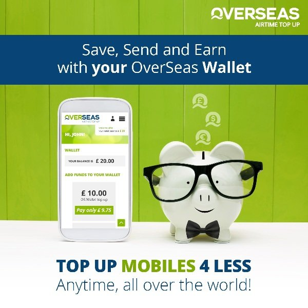Overseas Airtime Top Up
