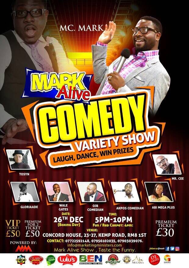 MC Mark Comedy Alive