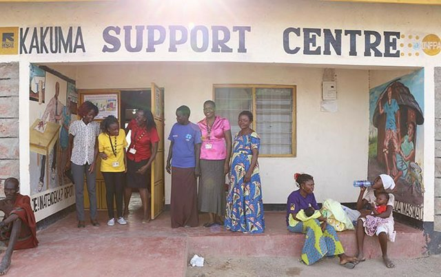 I'II probably would be dead by now were it not for their intervention,' Ms. Asinde said of the staff at the Kakuma Support Centre