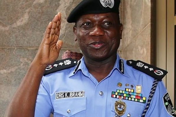 Nigeria's Police Inspector General - Ibrahim Idris
