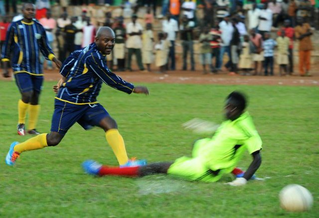 Officials jailed for rough-tackling President Pierre Nkurunziza