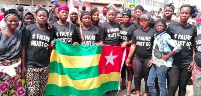 Faure must go protests