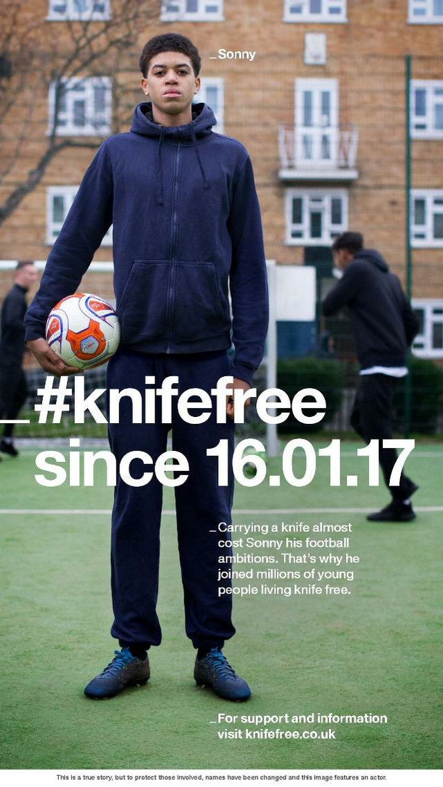 #KnifeFree - Sonny poster