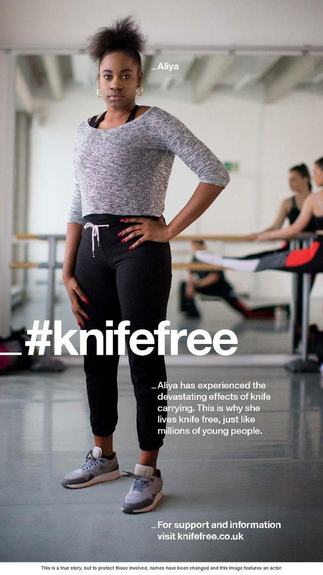 #KnifeFree - Aliya poster