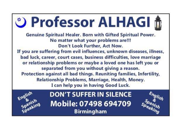 Prof Alhagi