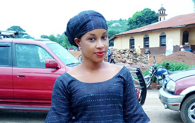Zainab Binta Jalloh - married off at age 15, is outspoken about her experience and the need for change.